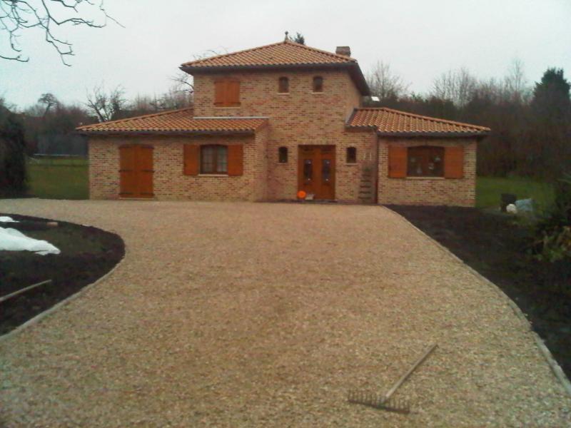 Parfait Amenagement Cour De Maison - Maison Design - Sibfa.com TT51
