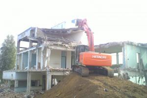 déconstruction d'usine